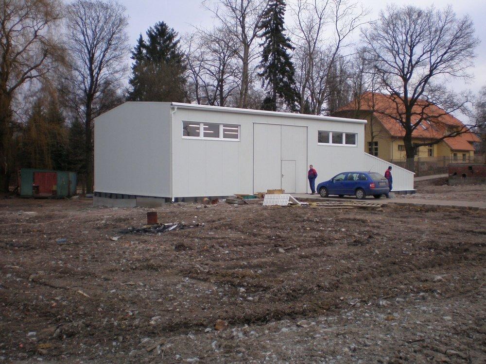 Завершенная водоподготовительная станция<br />Металлургический комбинат Челаковице